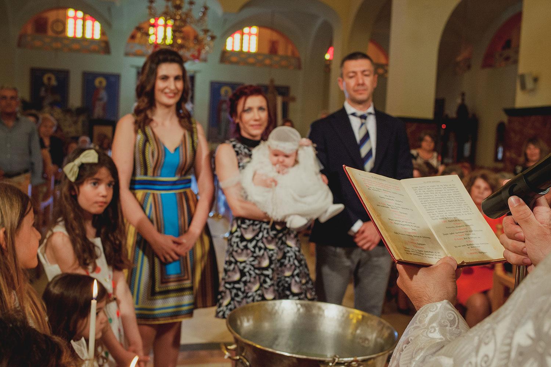 Βάπτιση στη Θεσσαλονίκη