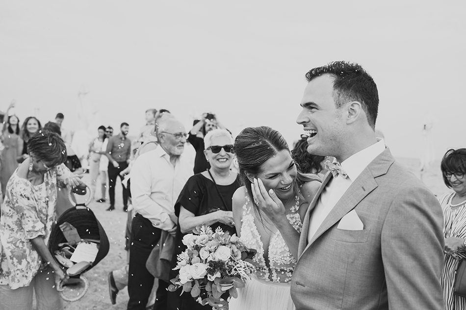 Πολιτικός γάμος στην παραλία
